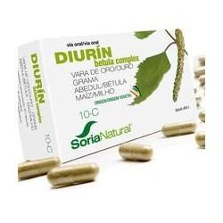 Composición cualitativa:  *Grama (Agropirum repens P. Beauv), rizoma...... 58,5 mg  Abedul (Betula alba L), hojas..........