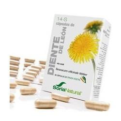 * Taraxacum gr officinale Weber ( parte aérea).  Flavonoides ( ácido clorogénico, vitexina, luteolina, etc.)....6 mg; ( 1 mg