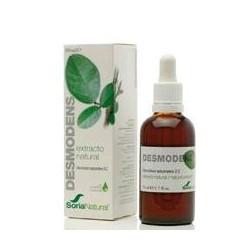 Extracto natural de parte aérea (tallos y hojas) de *Desmodium adscendens D.C. en glicerina vegetal.